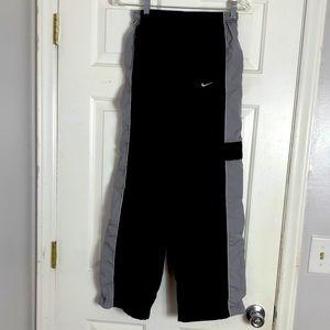 Nike Boys Black Gray Jogging Workout Pant XL 18-20